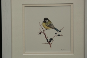 Great Tit & Sloes